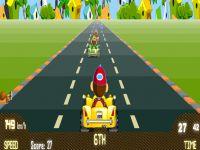 Kinder Go Kart Rennen